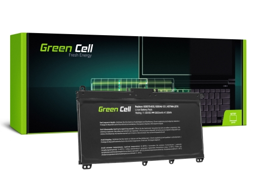Green Cell ® Laptop Akku TF03XL HSTNN-LB7X 920046-421 920070-855 für HP 14-BP Pavilion 14-BF 14-BK 15-CC 15-CD 15-CK 17-AR