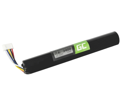 Green Cell Akku J406/ICR18650NH-2S HYBJ4061507 für Lautsprecher B&O BeoLit 15 BeoLit 17 BeoPlay A2 BeoPlay A2 Active, 3400mAh