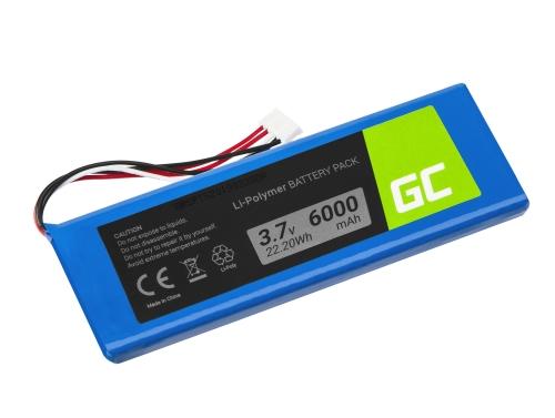 Green Cell ® Akku 5542110-P P5542100-P P5542100P für Lautsprecher JBL Pulse 2 Pulse 3 Pulse II/III, Li-Polymer 3.7V 6000mAh