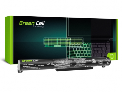 Green Cell Laptop Akku L14C3A01 L14S3A01 für Lenovo B50-10 IdeaPad 100-15IBY