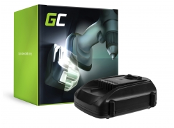 Batterie (2Ah 18V) WA3511 WA3512 WA3516 WA3523 für WORX WG151 WG251 WG540 WU289 WU381 WX163 WX164 WX368 AL-KO GTli 18V Comfort