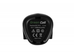 Green Cell ® Akku PCL12BLX für Porter-Cable PCL120CR PCL120DD PCL120ID PCL212IDC PCL120MTC Stanley FMC010 FMC040
