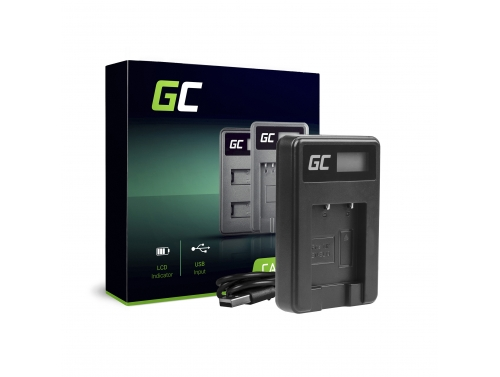 Ladegerät MH-66 Green Cell ® für Nikon EN-EL19 Coolpix A100 A300 S32 S33 S100 S2750 S3300 S5200 S6400 S7000 W100(4.2V 2.5W 0.6A)