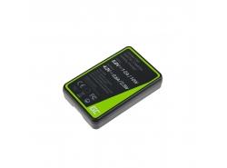 Kamera Akku-Ladegerät MH-67 Green Cell ® für Nikon EN-EL23 Coolpix B700 P600 P610 P900 S810C