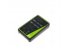 Kamera Akku-Ladegerät MH-18 Green Cell ® für Nikon EN-EL3 D-SLR D50 D70 D80 D90 D100 D200 D300 D700 D900