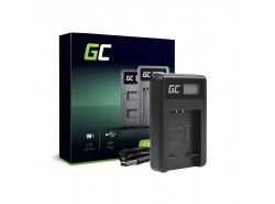 Kamera Akku-Ladegerät CB-2LD Green Cell ® für Canon NB-11L PowerShot A2300 IS A2400 IS A3400 IS A3500 IS SX400 IS 9