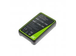 Kamera Akku-Ladegerät BC-QZ1 Green Cell ® für Sony NP-FZ100 Alpha A7 III A7R III A9 A9R A9S ILCE-7M3 7RM3