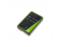 Kamera Akku-Ladegerät BC-TRW Green Cell ® für Sony NP-FW50 Alpha A7 A7 II A7R A7R II A7S A7S II A5000 A5100 A6000