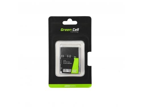 Green Cell ® AABAT-001 AHDBT-501Kamera-Akku für GoPro Hero 5 6 7 Black Silver White, Full Decoded (Li-Ion 3.85V 1220mAh Schwarz)