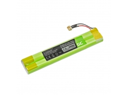 Green Cell Akku, Batterie EU-BT00003000-B für Lautsprecher Bluetooth TDK Life On Record A33 A34 A34 TREK Max, NI-MH 7.2V 2000mAh