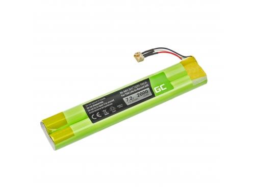 Green Cell Akku, Batterie EU-BT00003000-B für Lautsprecher Bluetooth TDK Life On Record A33 A34 A34 TREK Max, NI-MH 7.2V 2000mAh