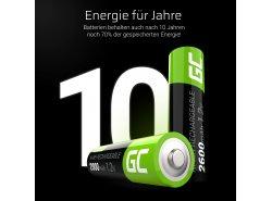 Green Cell Vorgeladene Ni-MH Akkus Batterien 4x AA HR6 2600mAh