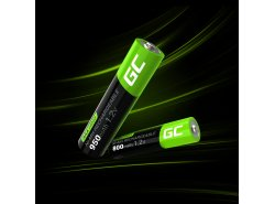 Green Cell 4x AAA HR03 800mAh Akku