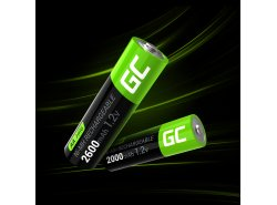 Green Cell 2x AA HR6 2600mAh Akku