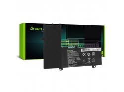 Green Cell Laptop Akku C21N1504 für Asus Transformer Book Flip TP200S TP200SA