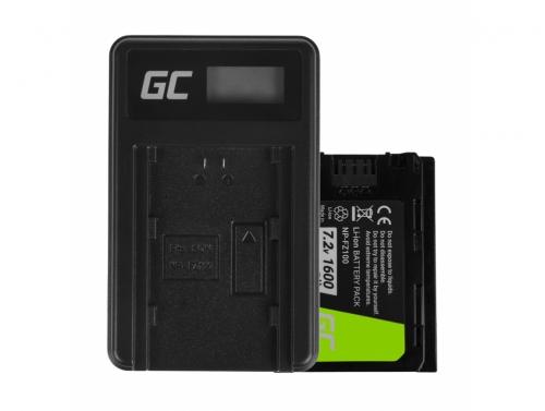 Green Cell Laptop Battery NP-FZ100 a nabíječku BC-QZ1 pro Sony Alpha 9 9R 9S A7 III A7R III A9 A9R