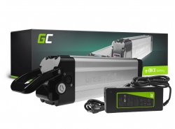Akku Batterie Green Cell Silverfish 36V 11.6Ah 418Wh für Elektrofahrrad E-Bike Pedelec