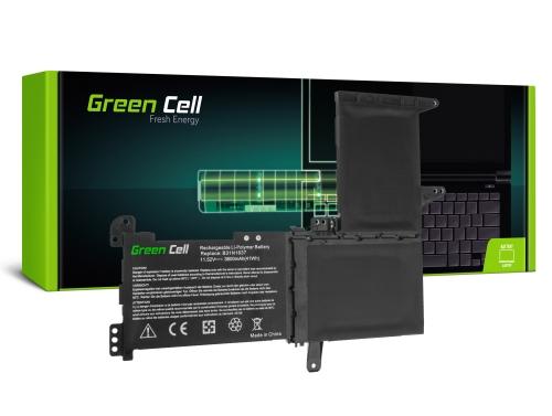 Green Cell Laptop Akku B31N1637 C31N1637 für Asus VivoBook S15 S510 S510U S510UA S510UN S510UQ 15 F510 F510U F510UA