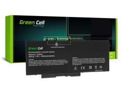 Baterie notebooku pro Green Cell telefony 93FTF GJKNX pro Dell Latitude 5280 5290 5480 5490 5491 5495 5580 5590 5591 Precision 3