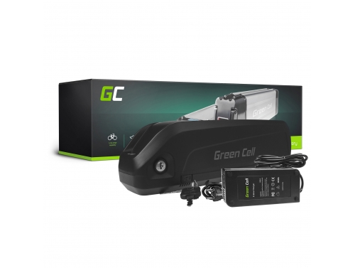 Akku Batterie Green Cell Down Tube 48V 17Ah 816Wh für Elektrofahrrad E-Bike Pedelec