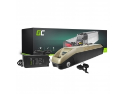 Akku Batterie Green Cell Down Tube 36V 11.6Ah 418Wh für Elektrofahrrad E-Bike Pedelec
