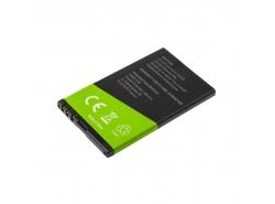 Akku BL-4U für Nokia 206 E66 500 3120 5530 5730