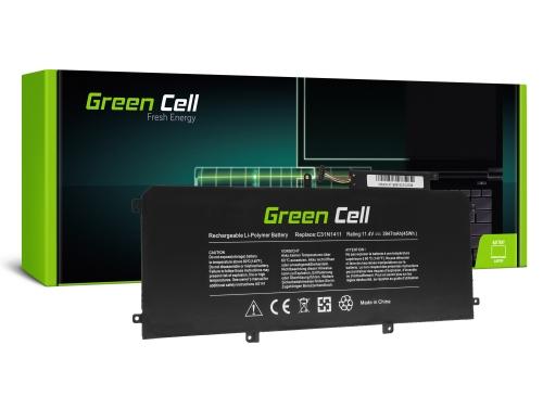 Green Cell Laptop Akku C31N1411 für Asus ZenBook UX305C UX305CA UX305F UX305FA