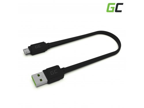 Kabel GCmatte Micro USB Flach 25 cm mit schneller Ladeunterstützung