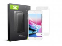 GC Clarity Schutzglas für iPhone 7 Plus, 8 Plus - Weiß