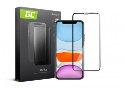 Schutzglas für Apple iPhone 11 GC Clarity Panzerglas Schutzfolien Displayschutz 9H Härte
