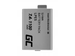 Green Cell ® Akku für Canon LP-E5 EOS 450D 500D 1000D