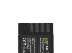 Green Cell ® Digitalkameras Akku für Pentax 645 645D 645Z 7.4V