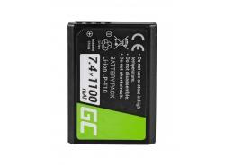 Green Cell ® Akku LP-E10 für Canon EOS Rebel T3, T5, T6, Kiss X50, Kiss X70, EOS 1100D, EOS 1200D, EOS 1300D 7.4V 1100mAh