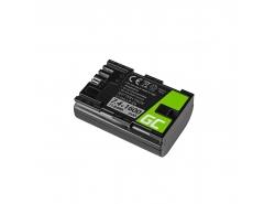 Green Cell ® Akku LP-E6 für Canon EOS 70D, 5D Mark II/ III, 80D, 7D Mark II, 60D, 6D, 7D 7.4V 1600mAh