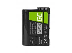 Green Cell ® EN-EL15 EN-EL15A Kamera-Akku für Nikon D600 D610 D750 D800 D810 D810A D7000 D7100 D7200 D7500 (Li-Ion 1400mAh 7V)