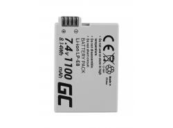 Green Cell ® Akku LP-E8 für Canon EOS Rebel T2i, T3i, T4i, T5i, EOS 600D, 550D, 650D, 700D, Kiss X5, X4, X6 7.4V 1100mAh