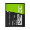 Green Cell ® Li-90B Li-92B Kamera-Akku für Olympus Tough TG-1 TG-2 TG-3 TG-4 TG-5 Stylus XZ-2 SP-100EE SH-50 (1050mAh 3.7V)