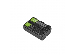 Green Cell ® Akku NP-FM500H für Sony A58, A57, A65, A77, A99, A900, A700, A580, A56,0 A55,0 A850, SLT A99 II 7.4V 1600mAh