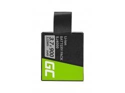 Green Cell ® Kamera-Akku für SJCAM SJ4000 SJ5000 SJ6000 SJ7000 EKEN H8 H8R H8PRO H9 H9R PG1050, Full Decoded (900mAh 3.7V)
