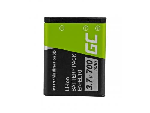 Green Cell ® LI-42B EN-EL10 Kamera-Akku für Olympus Stylus 700 730 740 750 800 Nikon Coolpix S80 S200 S3000 (700mAh 3.7V)