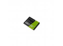 Green Cell ® Akku EN-EL10 für Nikon Coolpix S60, S80, S200, S210, S220, S500, S520, S3000 3.7V 700mAh