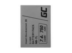 Green Cell ® BP-80 BP-941 BP-945 für Canon DM-XL1, ES5000, XL1 7.2V 6000mAh