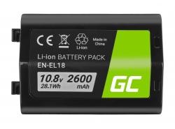 Green Cell ® NP-85 NP85 für FujiFilm FinePix SL300, SL305, SL280, SL260, SL240 3.7V 2000mAh