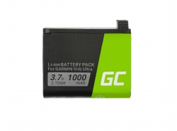 Green Cell ® 361-00087-00 010-12389-15 für Garmin Virb Ultra 30 3.7V 1000mAh
