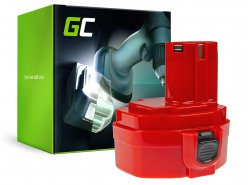Baterie Green Cell ® pro Makita 1420 1433 1434 4033D 4332D 6228D 6337D 14,4V 3Ah