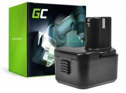 Green Cell ® Akkuwerkzeug für Hitachi CG EB12B EB1220B L10DL WH 12DH