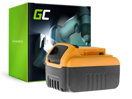 Green Cell® Batterie Akku (6Ah 18V) DCB182 DCB184 DCB185 DCB200 XR für DeWalt DCD740 DCD771C2 DCD780 DCD980 DCF885 DCS331 DCS381