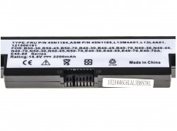Green Cell ® Laptop Akku L13S4A01 für Lenovo B40 B50 G550s N40 N50