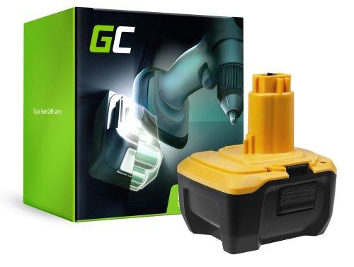 Green Cell® Batterie Akku (3Ah 14.4V) DC9182 DE9140 DE9141 für DeWalt DC528 DC732KL DC733C2 DC733KL DC735KA DC737KL DC757KA