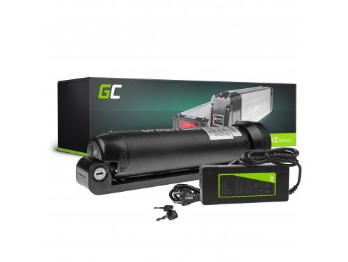 Green Cell® E-Bike Akku 36V 5.2Ah Li-Ion Bottle Batterie mit Ladegerät